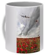 Poppies Dropped  Coffee Mug