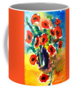 Poppies In A Vase Coffee Mug