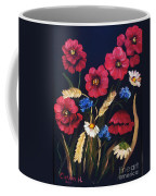 Poppies In Oils Coffee Mug