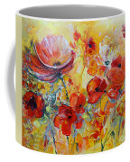 Poppies On Fire Coffee Mug