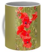 Poppies Vi Coffee Mug