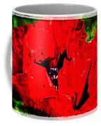 Giant Poppy Art  Coffee Mug