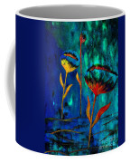 Poppy At Night Abstract 1 Coffee Mug