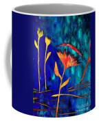 Poppy At Night Abstract 2 Coffee Mug
