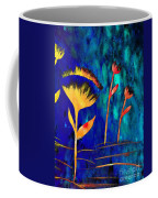 Poppy At Night Abstract 3  Coffee Mug