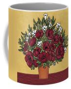 Poppy Bouquet Coffee Mug