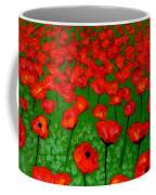 Poppy Carpet  Coffee Mug by John  Nolan