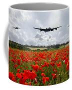 Poppy Fly Past Coffee Mug