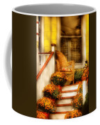 Porch - In The Light Of Autumn Coffee Mug