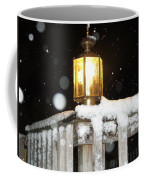 Porch Lamp Coffee Mug by Nelson Watkins