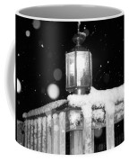 Porch Light Bw Coffee Mug