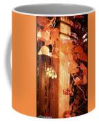 Porch Post Berries Rust Coffee Mug