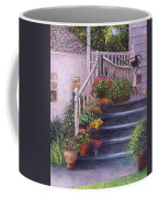 Porch With Watering Cans Coffee Mug