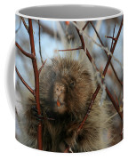 Porcupine And Berries Coffee Mug