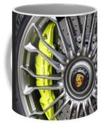 Porsche 918 Wheel Coffee Mug