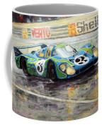 Porsche Psychedelic 917lh  1970  Le Mans 24  Coffee Mug