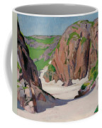 Port Bhan  Iona Coffee Mug by Francis Campbell Boileau Cadell