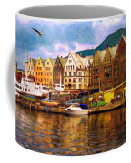 Port Life Watercolor Coffee Mug