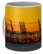 Port Of Felixstowe Coffee Mug by Svetlana Sewell