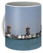 Port Of The Myloi - Rhodos City Coffee Mug