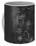 Portable Drum Set Patent 037 Coffee Mug