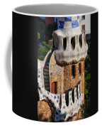Porter's Lodge Pavilion In Park Guell Coffee Mug