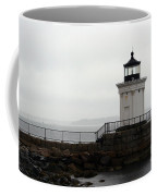 Portland Breakwater Light On A Hazy Day - Maine Coffee Mug