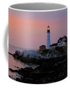 Portland Head Lighthouse At Daybreak Coffee Mug