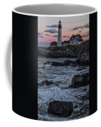 Portland Head Lighthouse Sunset Coffee Mug