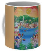 Portofino, Italy, 2012 Acrylic On Canvas Coffee Mug