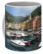 Portofino Port Entrance Coffee Mug