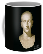 Portrait Bust Of Emperor Severus Alexander Coffee Mug by Anonymous