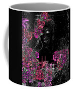 Portrait In Black - S01-02b Coffee Mug by Variance Collections