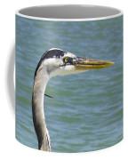 Portrait In Blue Coffee Mug