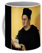 Portrait Of A Benedictine Abbot Coffee Mug