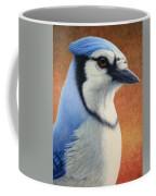 Portrait Of A Bluejay Coffee Mug