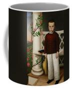Portrait Of A Boy Coffee Mug by James B Read