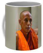 Portrait Of A Buddhist Monk Yangon Myanmar Coffee Mug