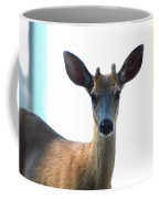 Portrait Of A Deer Coffee Mug