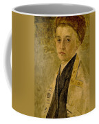 Portrait Of A Jewish Boy  Coffee Mug