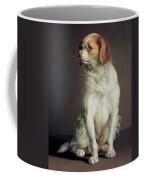 Portrait Of A King Charles Spaniel Coffee Mug