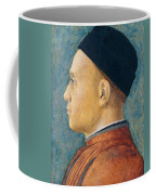Portrait Of A Man Coffee Mug by Andrea Mantegna