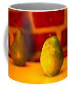 Portrait Of A Pear Coffee Mug