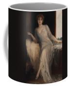 Portrait Of A Seated Woman Coffee Mug