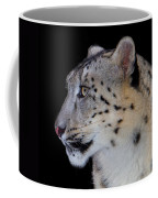 Portrait Of A Snow Leopard Coffee Mug