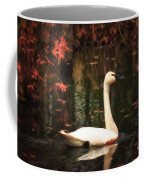 Portrait Of A Swan Coffee Mug