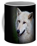 Portrait Of A White Wolf Coffee Mug