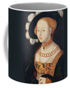 Portrait Of A Woman Coffee Mug