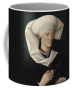 Portrait Of A Woman Of The Hofer Family Coffee Mug