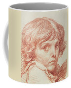 Portrait Of A Young Boy Coffee Mug